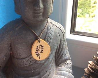 Chain, wood, Handhefertigt