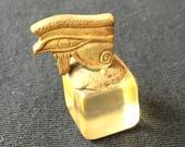 6th century B.C. Authentic Egyptian Udjet Eye Amulet  Bead