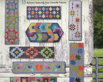 The Trendy Table - 15 Table Runner Patterns Featuring Favorite Precuts