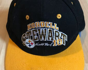Vintage 90s Kordell Stewart Snapback Hat