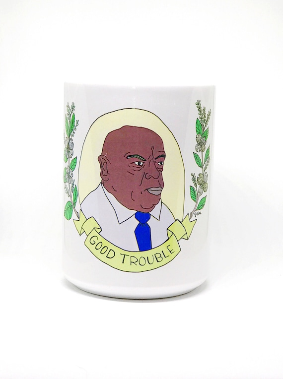 15 oz Mug | John Lewis | GOOD TROUBLE