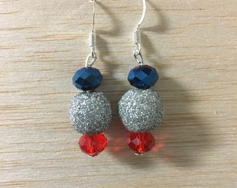 Fourth of July Earrings Part IV