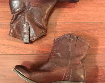 Frye Leather Boots 7B Women's