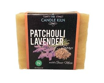 Patchouli Lavender All-Natural PREMIUM Cold Process Soap