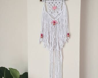 Macrame wall hanging,Hand made macrame, wall hanging,chic wall art,waeviing fiber art,hand made home decor,organic cotton,boho wall tpestry
