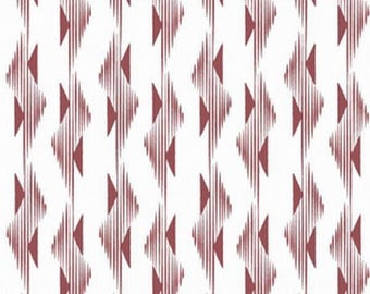 EXCLUSIVE patchwork Burgundy MARSALA hawthornthreads fabric