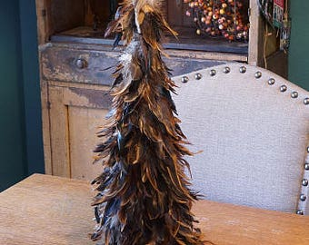 "Decorative Feather Tree 24"" TRSXHB24--N"
