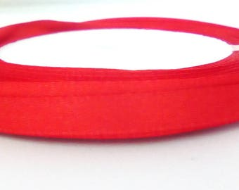 1 m Red satin ribbon