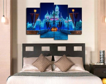 Disney Castle Canvas Print Wall Decor