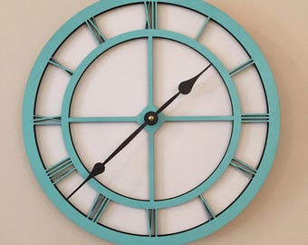 Beach Clock- Beach Themed Wall Clock