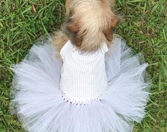 Dog Wedding Dress - Dog Tutu Dress - Dog Wedding Attire - Dog Dress Wedding - Dog Tutu - Dog Dress - Wedding Dog