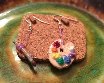 Painter's earings