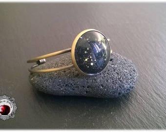 Astral black bracelet