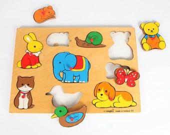 Vintage Jigsaw Puzzle-Fun animal puzzle