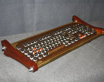 "Steampunk Keyboard, ""le clavier"""