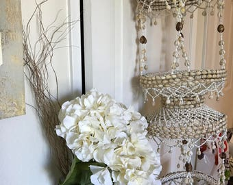 Vintage shell chandalier/ mobile