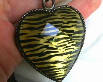Zebra heart 1990