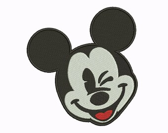 10 Size Mickey Mouse Embroidery Designs Instant Download 8 Formats machine embroidery pattern