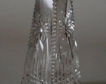 Fine Art Deco Crystal Perfume Bottle Atomizer