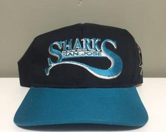 Vth san jose sharks starter snapback hat