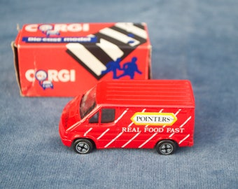 Vintage Corgi Toy Car Pointers Fast Food Van BOXED Made in Gt Britain