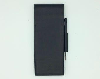 Racing black notebook