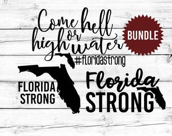 Florida Strong SVG, Hurricane Irma SVG, Florida Svg, Pray For Florida, Svg Bundle, Svg for Cricut, Svg for Silhouette, SVG Files