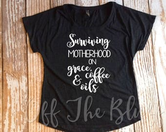 Surviving Motherhood on Grace, Coffee and Oils Black Dolman