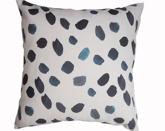 Blue Spot Cushion