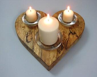 Wedding Unity Candle Holder Set