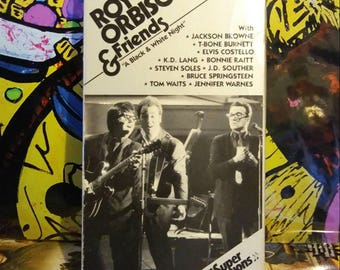 """1988 Roy Orbison and Friends """"A Black & White Night"""" VHS"""