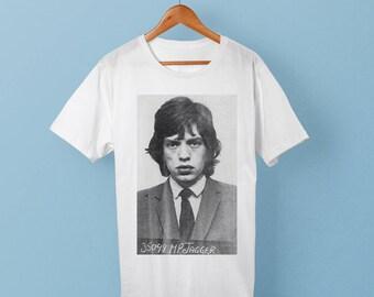 Mick Jagger Mugshot T-Shirt / Move like Jagger