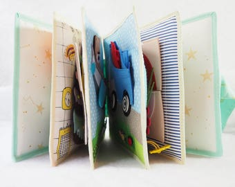Quiet book. Handmade gifts for children.