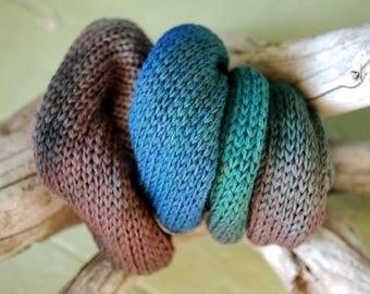 Hand Dyed Sock Yarn Blank - Manly