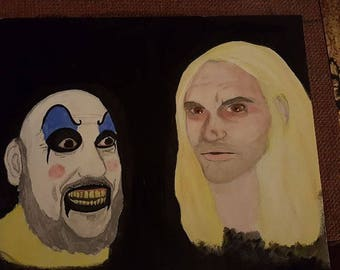 House of 1000 Corpses Otis and Captain Spaulding Print