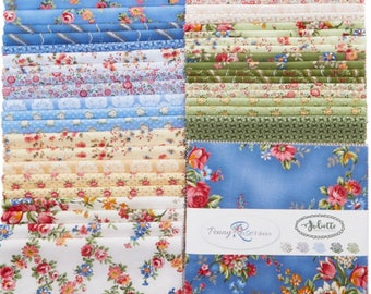 """Penny Rose Fabrics - Juliette 10"""" Stackers/Layer Cake by Penny Rose Studio - 42, 10"""" x 10"""" Precut Fabric Squares"""