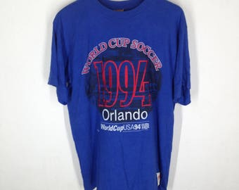 Vintage Orlando WORLD CUP 1994 USA sports T-Shirt Size M