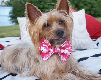 Hello Kitty Pet Bowties /Dog bow tie /Dog Bowties / Pet Bowties /Cat Bowties/Bowties for dogs / Bowties for pets