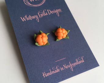 Newfoundland Bakeapple Earrings