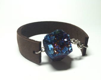 Drury leather bracelet