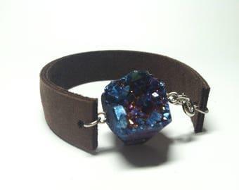 Drury leather bracelet