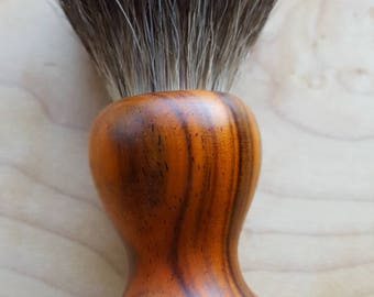 Cocobolo Pure Badger Shaving Brush