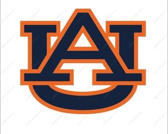Auburn Tigers svg auburn logo svg football svg Cutting File in Dxf  Png Ai  for Studio for Cricut & Silhouette Digital File