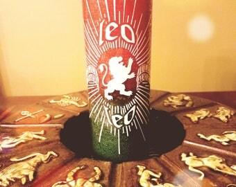 7 Day Zodiac Candle (Leo)