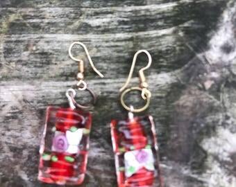 Handmade drop earrings Any two pair in my store is 5.00