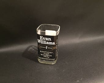 Evan Williams candle Bourbon Whiskey BOTTLE Soy Candle.750ML. Made To Order !!!!!