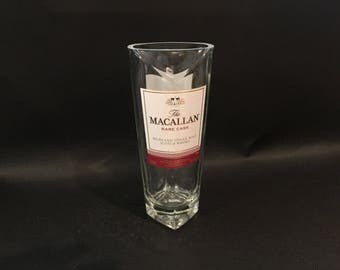 HANDCRAFTED Candle UP-CYCLED The Macallan Rare Cask Scotch Whiskey Soy Candle. Made To Order !!!!!!! Thick Heavy Bottle. Very Rare