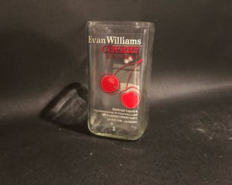 Evan Williams Candle Cherry Bourbon Whiskey  Bottle Soy Candle. Made To Order !!!!!!!