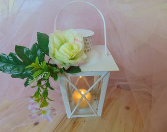 Rustic White Wedding Lanterns,White Lanterns,Moroccan Lanterns, Shabby Wedding Lighting, Wedding Centerpiece, White Lantern, home decor