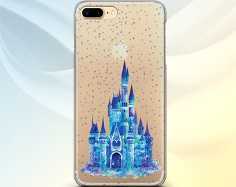 Disney Castle iPhone 7 case Disney Samsung S8 Plus Case iPhone 6S Disney iPod Touch 6 case Google Pixel XL Disney LG G6 case Samsung S7 TPU